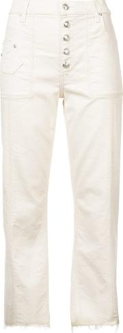 Blake Mid Rise Slim Culotte With Utility Pockets