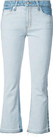 Gia Mid Rise Cropped Flare