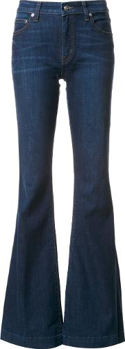 Noha Mid Rise Sexy Flare Jeans Women Cottonpolyesterspandexelastane 31, Blue