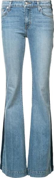 Noha Mid Rise Sexy Flare Jeans Women Cottonspandexelastane 29, Blue