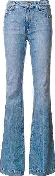 Noha Mid Rise Sexy Flare Jeans Women Cottonspandexelastane 31, Blue