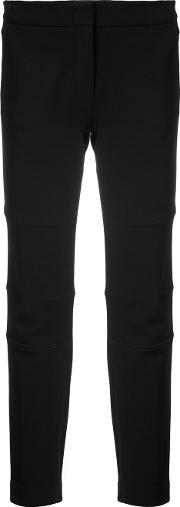 Derek Lam Slim Utility Pant With Zipper Detail Women Acrylicelastodienepolyamidevirgin Wool 46, Black