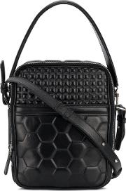 1972 Geometric Quilted Cross Body Bag