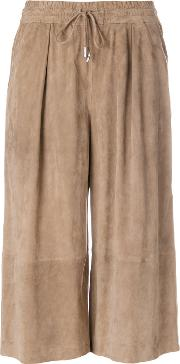 1972 Wide Leg Cropped Trousers