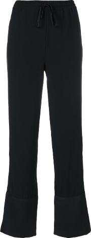 Designers Remix Emily Trousers Women Polyester 36, Black