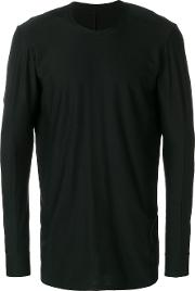 Devoa Long Sleeve T Shirt Men Cotton 3, Black