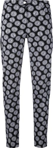 Embroidered Skinny Trousers
