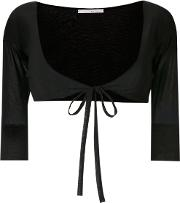 Tied Cropped Cardigan