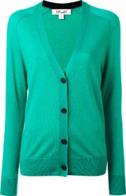 Knitted Cardigan Women Cashmere Xs, Green