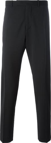 Classic Tailored Trousers Men Polyesterspandexelastanewool 48