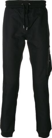 Zip Pocket Tapered Trousers