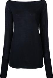 Pinacle Boat Neck Jumper