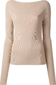 Pinacle Knitted Blouse Women Viscose 10, Nudeneutrals