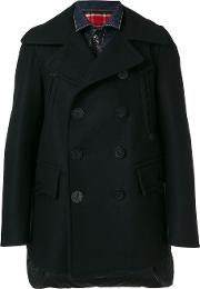 Padded Back Short Peacoat