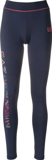 Contrast Logo Leggings