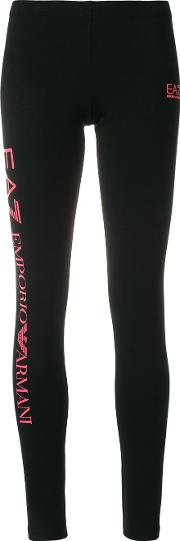 Logo Print Leggings