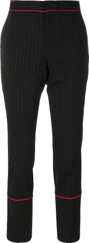 Each X Other Other Cropped Trousers Women Spandexelastanewool S