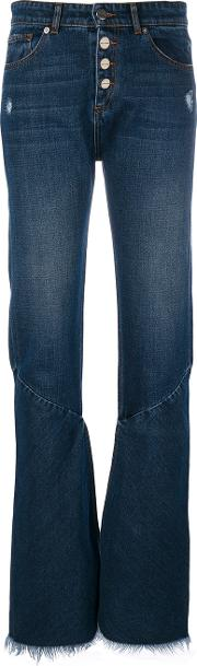 Each X Other Other Flared Jeans Women Cotton 25, Blue