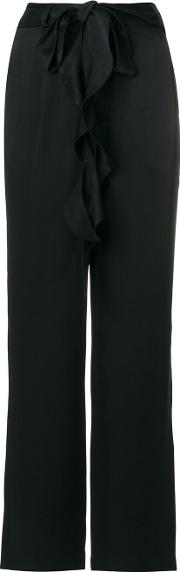 Each X Other Other Straight Trousers Women Acetateviscose S, Black