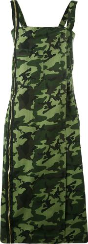 Other Military Camouflage Dress Women Cotton M, Green