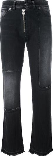 Other Straight Jeans Women Cotton 30, Women's, Black