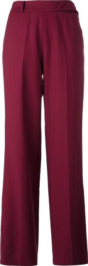 Other Straight Tailored Trousers Women Wool L