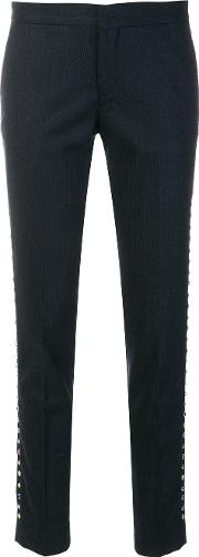 Stud Embellished Trousers