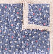 Printed Linen Scarf Men Linenflax One Size