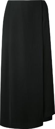 Enfold Layered Culottes Women Polyester 38, Black