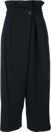 Enfold Paperbag Cropped Trousers