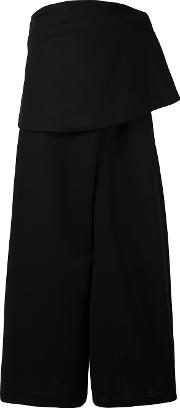 Enfold Strapless Flared Jumpsuit