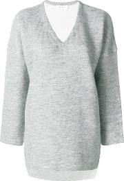Enfold V Neck Jumper