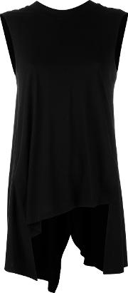 Shift Blouse Women Cottonlyocell 38, Black