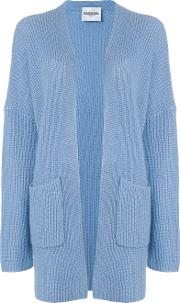 Essentiel Antwerp Long Cardigan Women Nylonmohairwool Xs, Blue