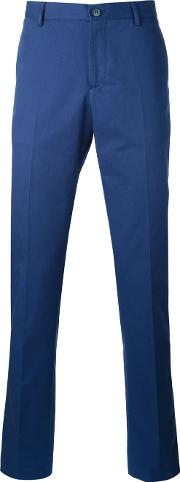 Classic Chinos Men Cotton 56, Blue