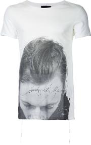 Alessandro Print T Shirt Men Cotton 2, White