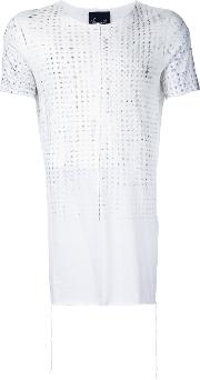 Gappy T Shirt Men Cottonmodal 4, White