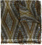 Uncy Scarf Women Silkcottonmodalcashmere One Size, Women's, Brown