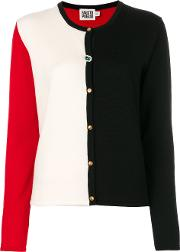 Fausto Puglisi Colour Block Cardigan Women Virgin Wool 42