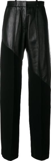 Mixed Wide Leg Trousers