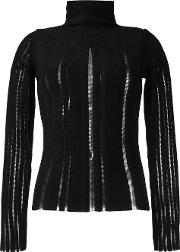 Turtleneck Jumper Women Polyamideviscose 44, Women's, Black