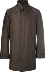 Classic Raincoat Men Polyesterpolyamide L, Brown