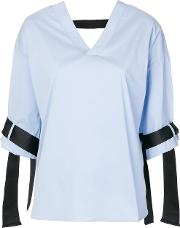 Belted Cuff Blouse