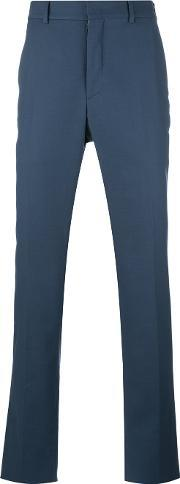 Chino Trousers Men Cottonspandexelastaneviscose 50, Blue