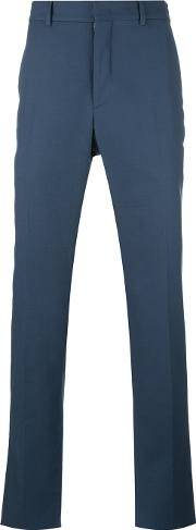 Chino Trousers Men Cottonspandexelastaneviscose 54, Blue