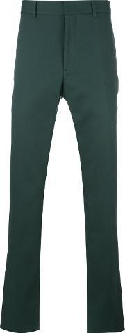 Chino Trousers Men Cottonspandexelastaneviscose 54, Green