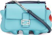 Micro 'double Baguette' Crossbody Bag Women Leatheracetate One Size