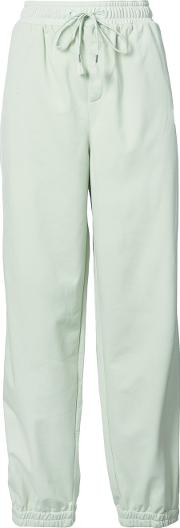 Puma Tearaway Track Pants Women Polyester M, Green