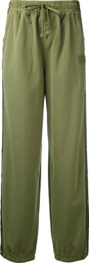 Puma Tearaway Track Pants Women Polyester Xs, Green