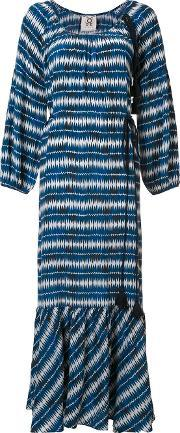 'marlie' Cordoba Print Dress Women Silk M, Women's, Blue